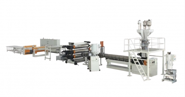 ABS HIPS Refrigerator plate extrusion line