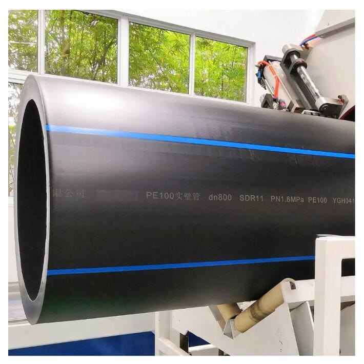 chinaplas2019 excellent equipment8211 large thickness hdpe pipe extrusion line 4