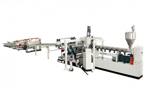 PC, PMMA GPPS Plate Extrusion Line