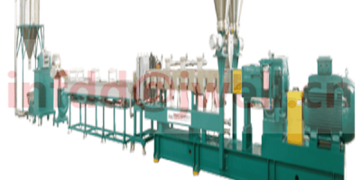 PET flake twin screw pelletizing line