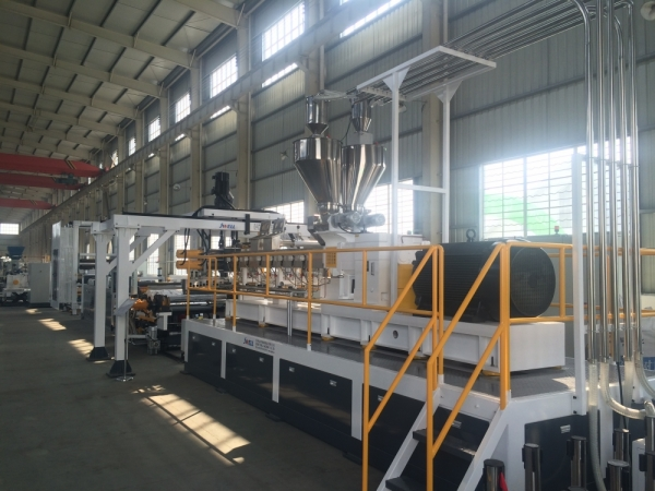 PET PLA sheet extrusion line