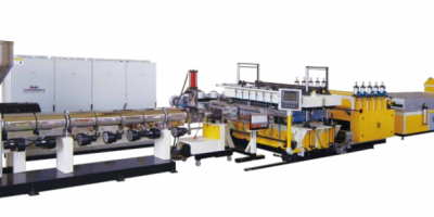 PP Hollow Plate Extrusion Line