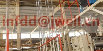 PP PE POM board extrusion line