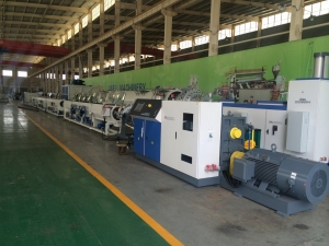 PVC PPR PE pipe extrusion line