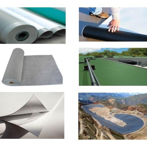 Waterproof membrane extrusion line