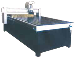 Carving machine for door
