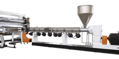 HDPE PP T Grip Sheet Extrusion Line