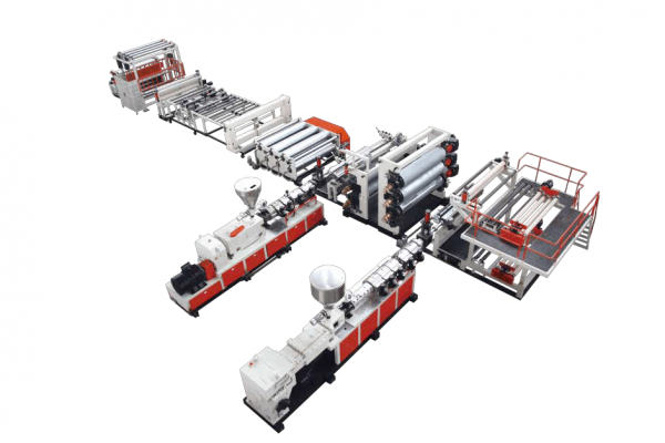 High Polymer Composite Waterproof Roll Extrusion Line