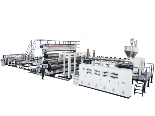 PE Extra Width Geomembrane Waterproof Roll Extrusion Line