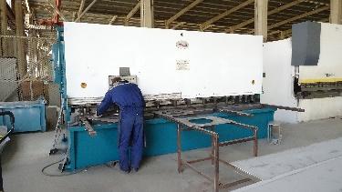 Plate Shearing