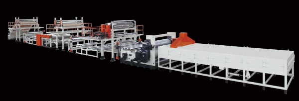 HDPE/PP T-Grip Sheet Extrusion Line
