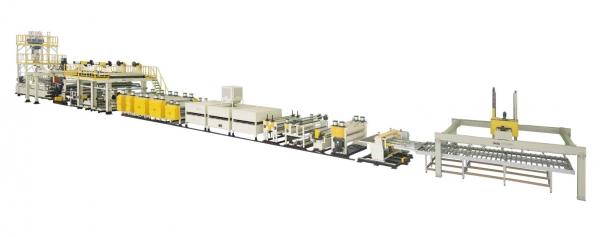 High Speed Aluminum Plastic Composite Panel Extrusion Line