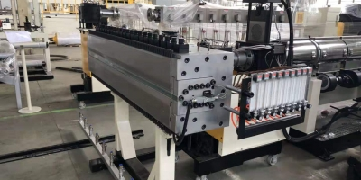pc hollow sheet extrusion line