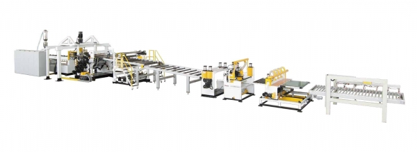 PC/PMMA/GPPS/ABS Plastic Sheet & Plate Extrusion Line