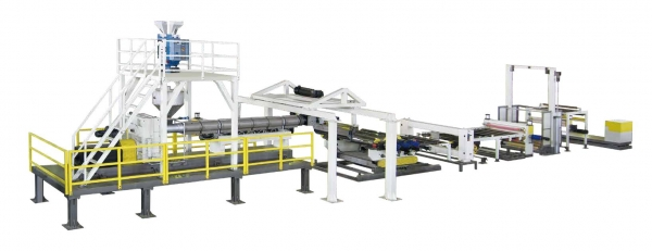PC/PMMA Optical Sheet Extrusion Line