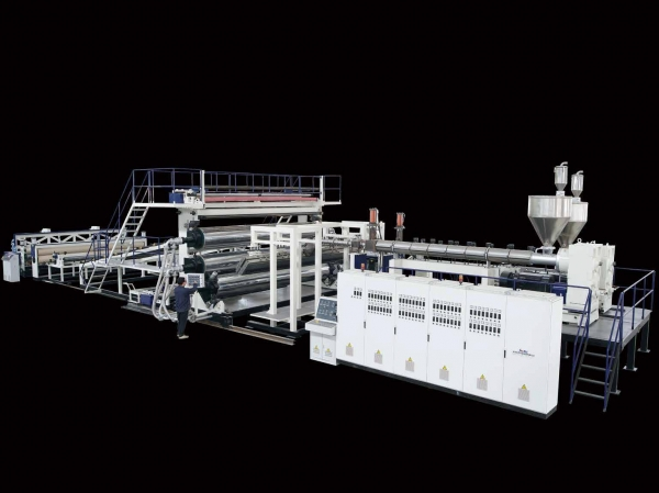 PE Extra-width Geomembrane/Waterproof Roll Extrusion Line