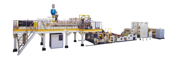 PET/PLA Environmental Sheet Extrusion Line