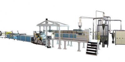 pet single screw extrusion line