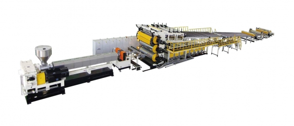 PP/PE/ABS/PVC Thick Plate Extrusion Line