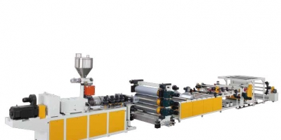 PVC Transparent Sheet and Rigid Sheet Extrusion Line
