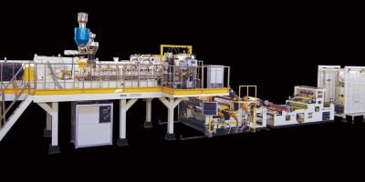 Twin Screw Dyer-free Vented PET Sheet Extrusion Line