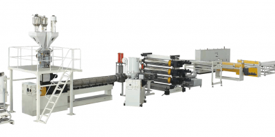 ABS HIPS Single Multi layer Plate Extrusion Line