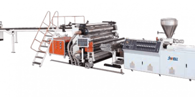 PVC Free Foaming UV imitation marble board Extrusion Line