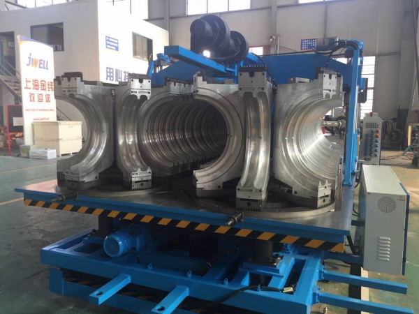 dwc pipe extrusion line