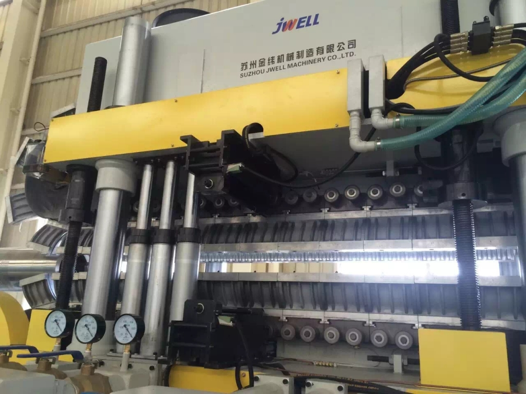 vertical type double wall corrugated pipe machine