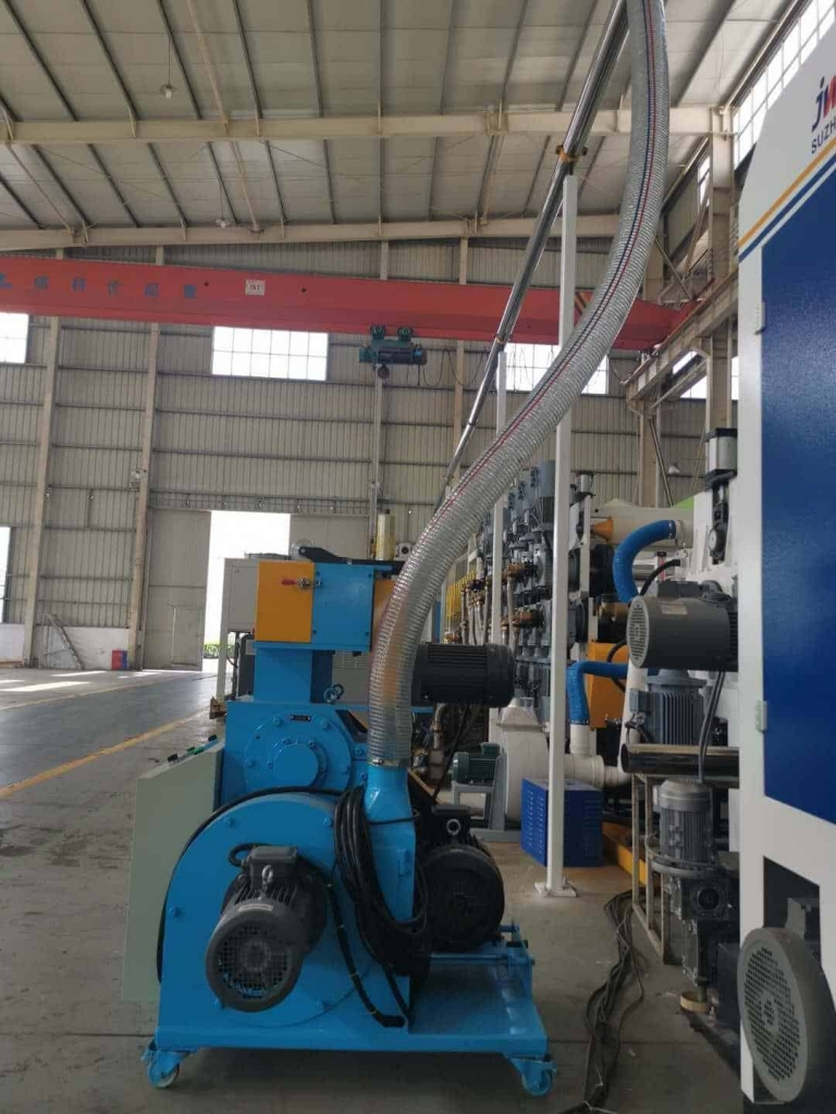 On line scrap recycling system