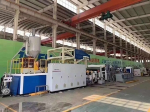 pe breathable film production line