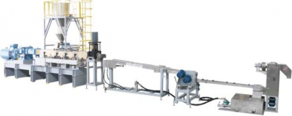 PET Bottle Flakes Recycling Pelletizing Series