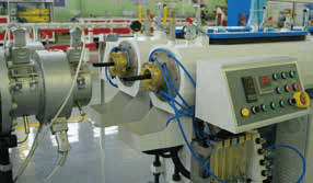 Small caliber PE PPR PE RT PA Single pipe Dual pipe High speed Extrusion Production Line application