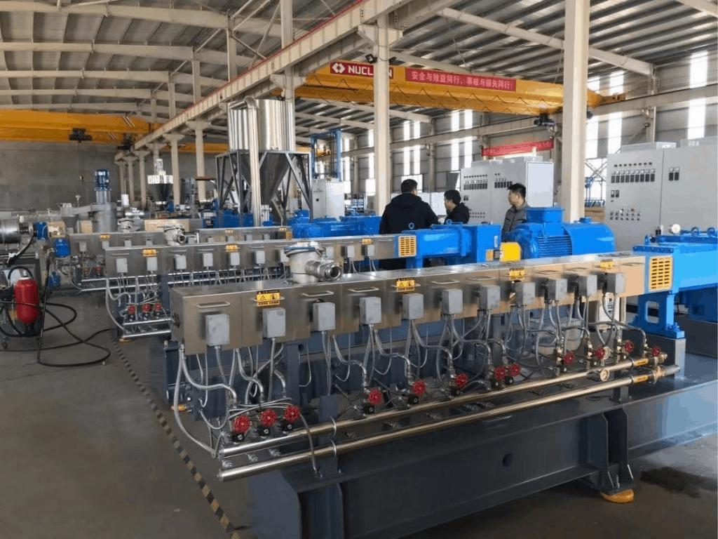 JWELL biodegradable compounding machine