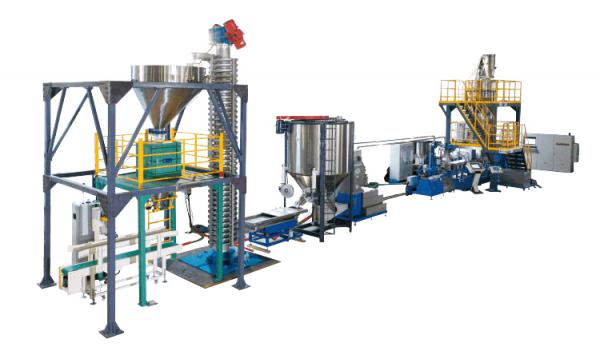 PLA PBAT biodegradable compounding machine
