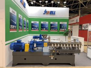 jwell biodegradable plastic compounding machine