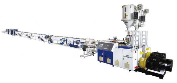 Multi layer HDPE Solid Wall Pipe Co extrusion Line