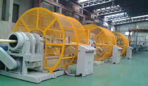 RTP Reinforced Spiral Pipe Extrusion Line