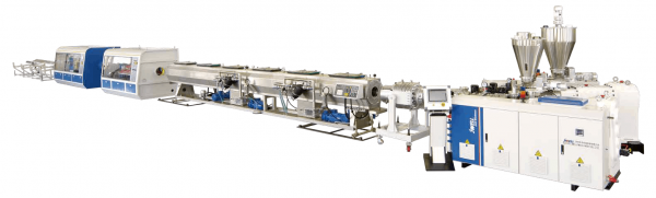 Three layer PVC Solid Wall Pipe Co extrusion Production line